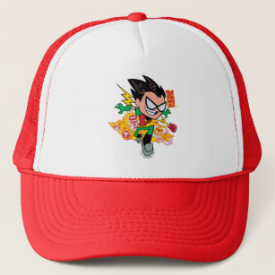 Teen Titans Go! | Robin's Arsenal Graphic Trucker Hat