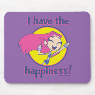 "Teen Titans Go! | Starfire ""I Have The Happiness"" Mouse Pad"