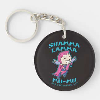 "Teen Titans Go! | Starfire ""Shamma Lamma Mu-Mu"" Key Ring"