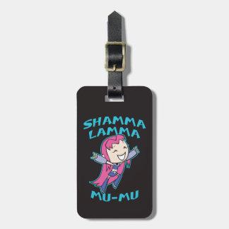 "Teen Titans Go! | Starfire ""Shamma Lamma Mu-Mu"" Luggage Tag"