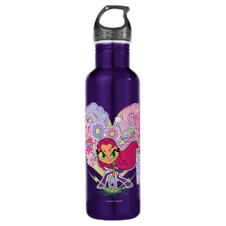Teen Titans Go! | Starfire's Heart Punch Graphic 710 Ml Water Bottle
