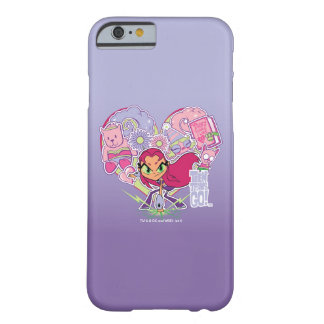 Teen Titans Go! | Starfire's Heart Punch Graphic Barely There iPhone 6 Case