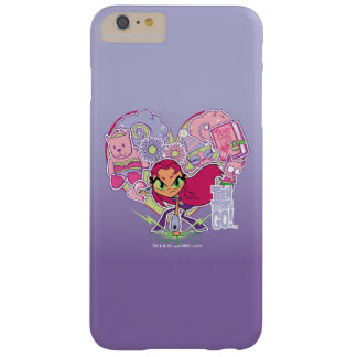 Teen Titans Go!   Starfire's Heart Punch Graphic Barely There iPhone 6 Plus Case