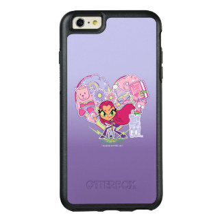 Teen Titans Go!   Starfire's Heart Punch Graphic OtterBox iPhone 6/6s Plus Case