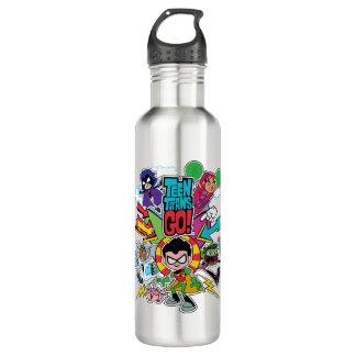 Teen Titans Go! | Team Arrow Graphic 710 Ml Water Bottle