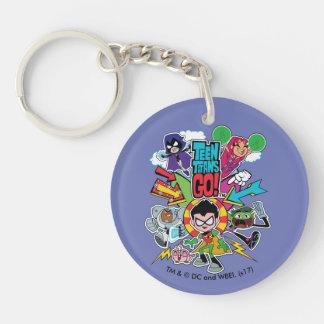 Teen Titans Go! | Team Arrow Graphic Key Ring