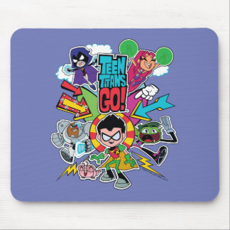Teen Titans Go! | Team Arrow Graphic Mouse Pad