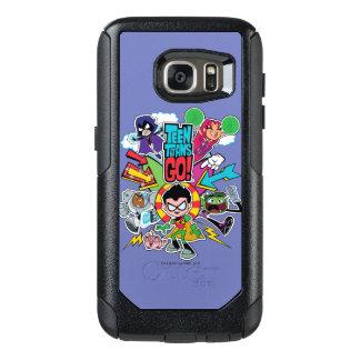 Teen Titans Go!   Team Arrow Graphic OtterBox Samsung Galaxy S7 Case