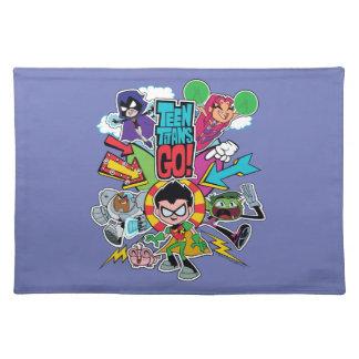 Teen Titans Go! | Team Arrow Graphic Placemat
