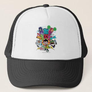 Teen Titans Go!   Team Arrow Graphic Trucker Hat