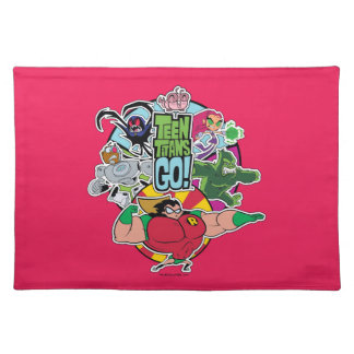 Teen Titans Go! | Team Group Graphic Placemat