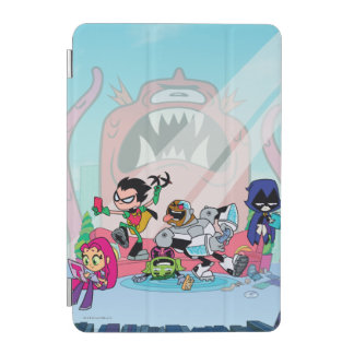 Teen Titans Go! | Tentacled Monster Approaches iPad Mini Cover