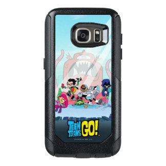 Teen Titans Go! | Tentacled Monster Approaches OtterBox Samsung Galaxy S7 Case