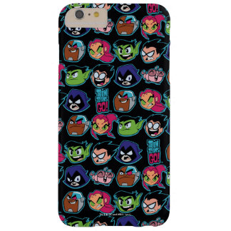 Teen Titans Go! | Titans Head Pattern Barely There iPhone 6 Plus Case