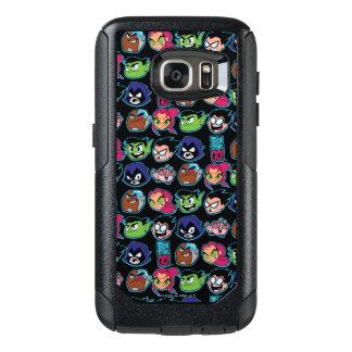 Teen Titans Go!   Titans Head Pattern OtterBox Samsung Galaxy S7 Case