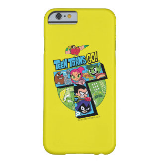 Teen Titans Go! | Titans Tower Collage Barely There iPhone 6 Case