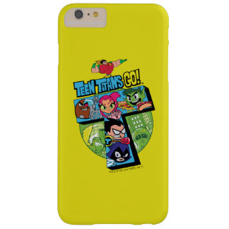 Teen Titans Go! | Titans Tower Collage Barely There iPhone 6 Plus Case