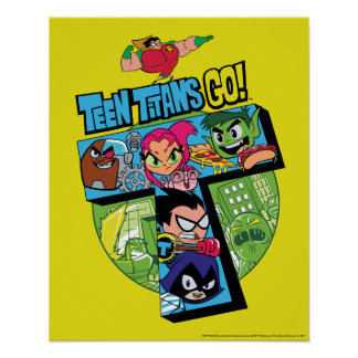 Teen Titans Go! | Titans Tower Collage Poster