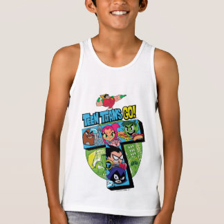 Teen Titans Go! | Titans Tower Collage Singlet
