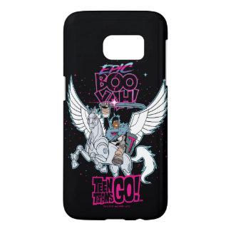 Teen Titans Go! | Warrior Cyborg Riding Pegasus