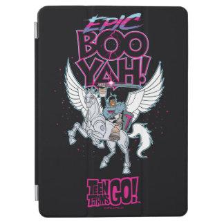 Teen Titans Go! | Warrior Cyborg Riding Pegasus iPad Air Cover