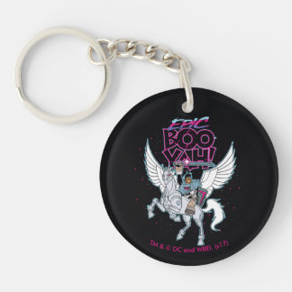 Teen Titans Go!   Warrior Cyborg Riding Pegasus Key Ring