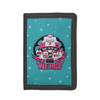 "Teen Titans Go! | ""We Ride"" Retro Moto Graphic Trifold Wallet"