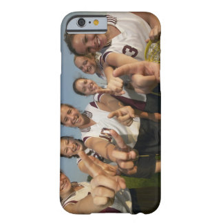 Teenage (16-17) lacrosse team signalling number barely there iPhone 6 case