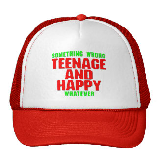 Teenage and Happy Cap