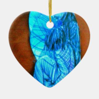 teenage attraction ceramic heart decoration