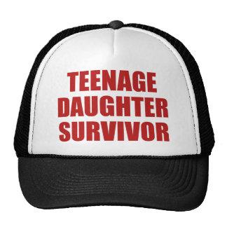 Teenage Daughter Survivor Hat