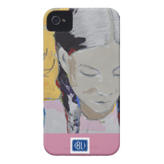 Teenage girl, 4 yellow- is phone hard cover2 Case-Mate iPhone 4 cases