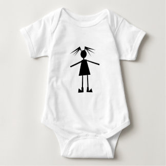 Teenage girl baby bodysuit