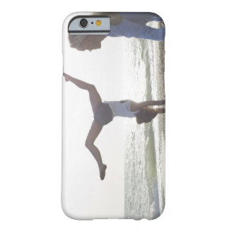 Teenage girl performs gymnastic feat, mom barely there iPhone 6 case