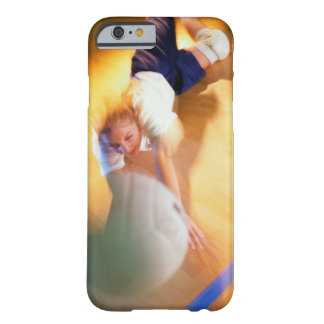 Teenage Girl Playing Volleyball Barely There iPhone 6 Case