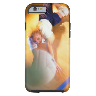 Teenage Girl Playing Volleyball Tough iPhone 6 Case