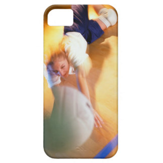 Teenage Girl Playing Volleyball Case For The iPhone 5