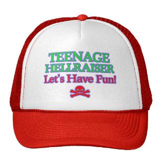Teenage Hellraiser Mesh Hat