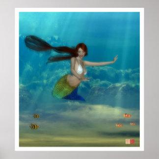 Teenage Mermaid Poster