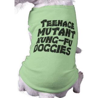 Teenage Mutant dog t-shirt