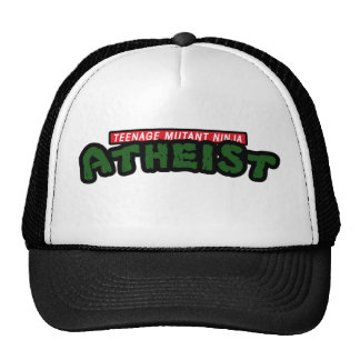 Teenage Mutant Ninja Atheist Trucker Hat
