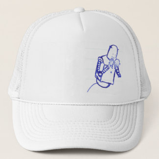 teenage robot trucker hat
