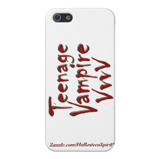 Teenage Vampire with Fangs Cases For iPhone 5