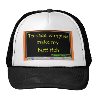 Teenage vampires make my butt itch mesh hat