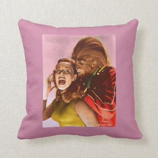 Teenage Werewolf and Monster pillow Cushions