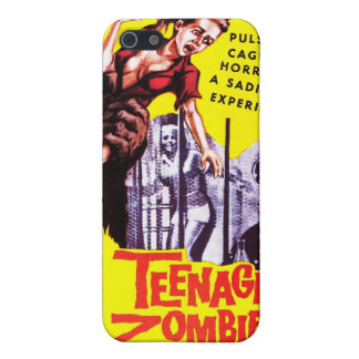"""""""Teenage Zombies"""" Iphone Case iPhone 5 Covers"""