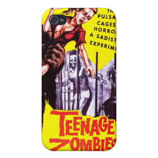 """""""Teenage Zombies"""" Iphone Case Cover For iPhone 4"""