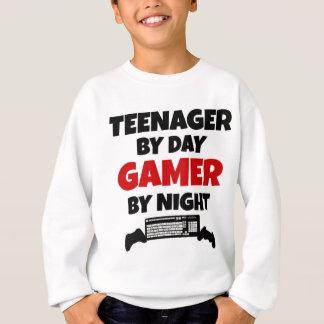 Teenager by Day Gamer by Night Sweatshirt