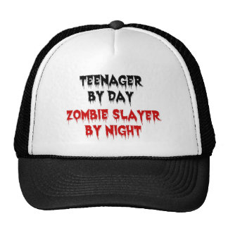 Teenager by Day Zombie Slayer by Night Cap