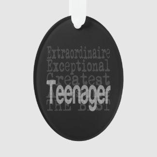 Teenager Extraordinaire Ornament